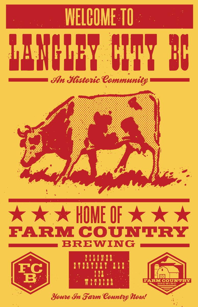 Langley City Craft Beer Cow