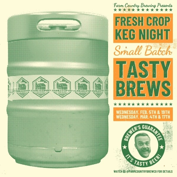 Fresh Crop Keg Night Langley