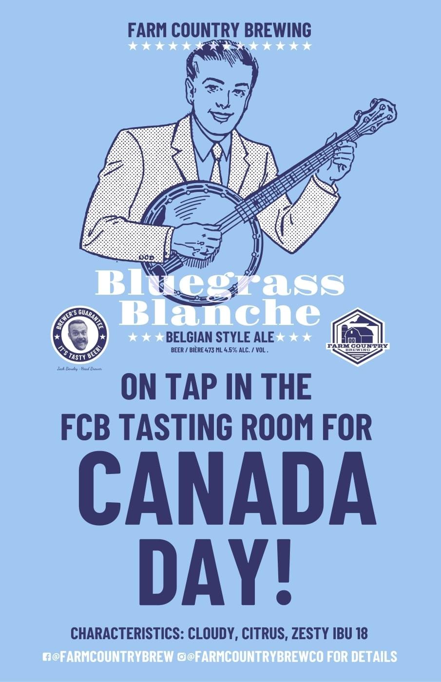 Bluegrass Blanche Brew