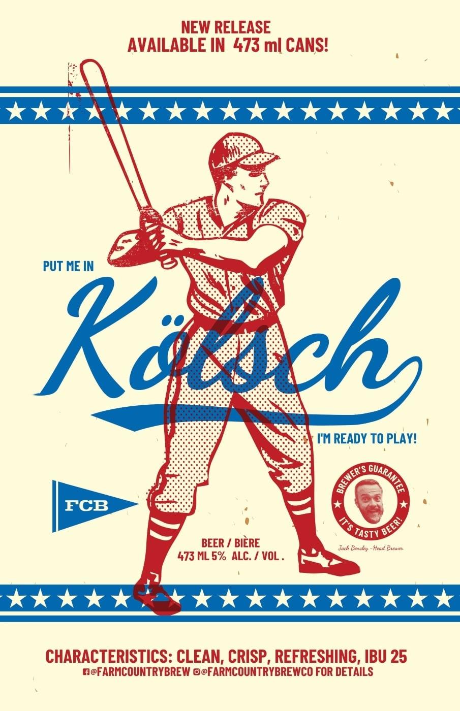 Kolsch Batter Beer