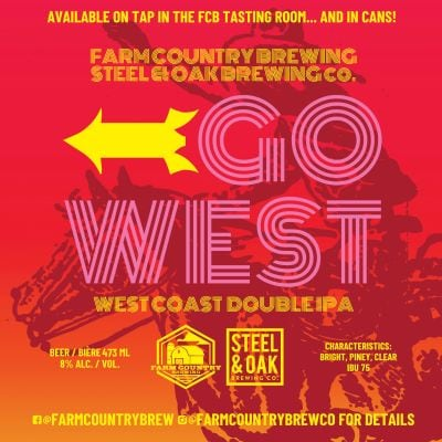 Go West Double IPA