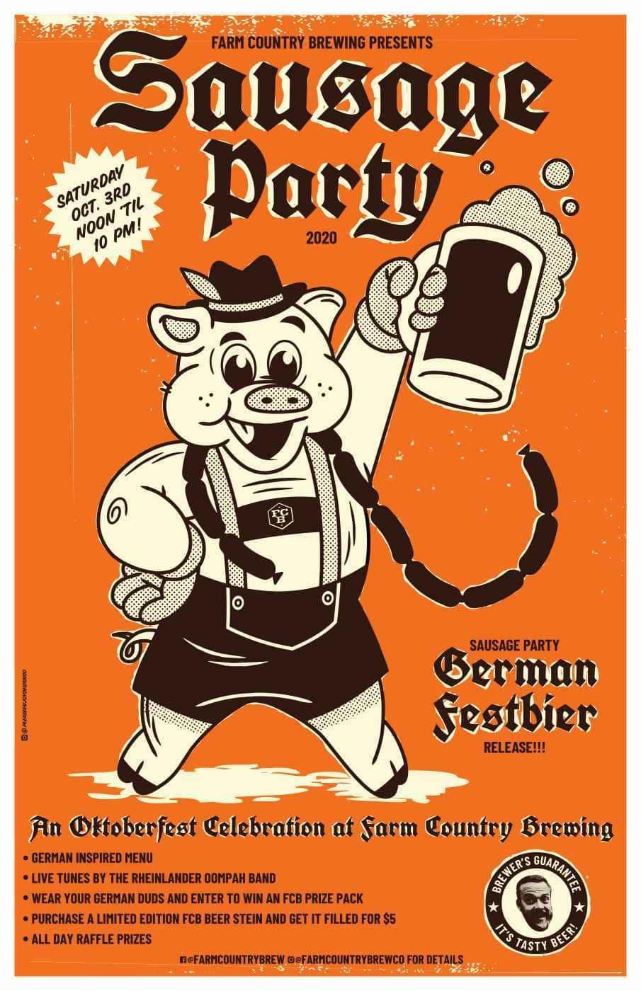 Poster for German Festbier