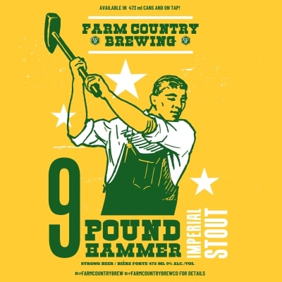 Nine Pound Hammer Beer