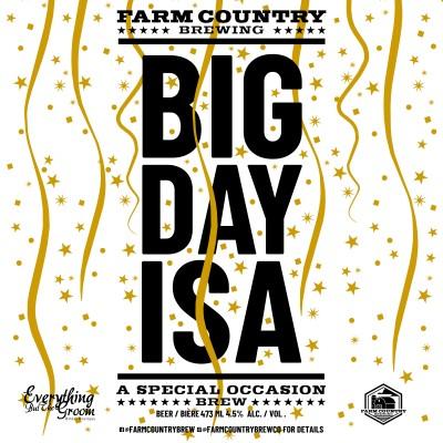 Big Day ISA beer