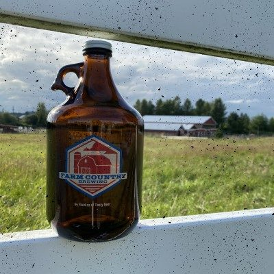 Growler on Farm